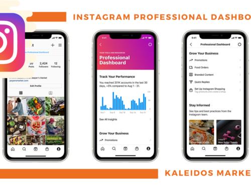 Novità: La Dashboard di Instagram