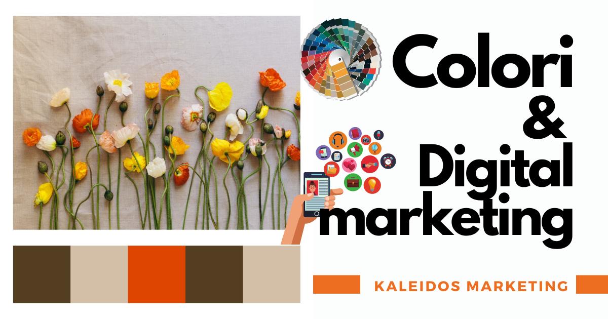 l'importanza dei colori nel marketing digitale