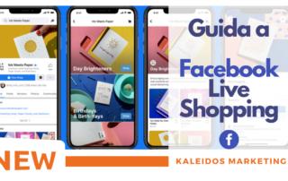 È il momento di Shopping su Facebook in diretta ma non sai come fare Nessun preoccuparti, abbiamo creato la Guida a Facebook Live Shopping.
