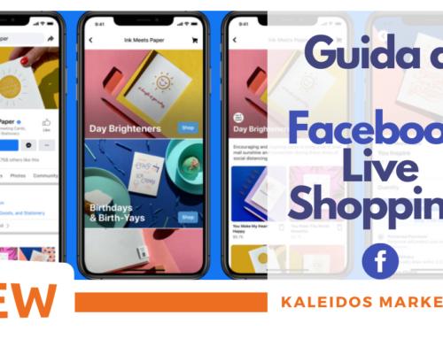 Guida a Facebook Live Shopping