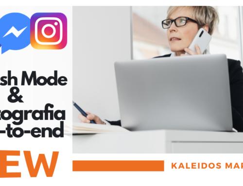 Vanish mode e Crittografia end-to-end, le novità introdotte per Instagram e Messenger